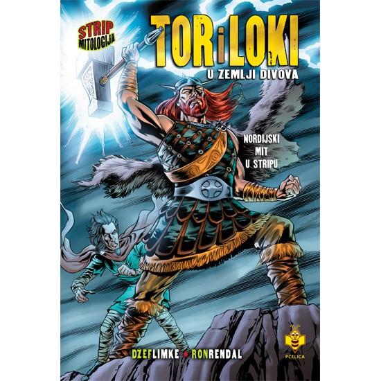 Tor i Loki u zemlji divova – Strip mitologija