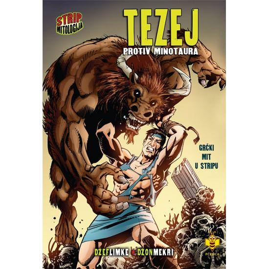 Tezej protiv Minotaura – Strip mitologija